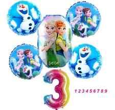 Die Eiskönigin Folienballon Anna Elsa Frozen Ballons Set 1-9 Mädchen Geburtstag
