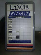 Insegna tabella lavagna magnetica LANCIA FIAT pubblicità officina Thema Croma