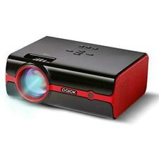 Paick LED Video Projector 180 Big Screen Upgraded +60% Brighter Red