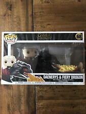 Funko POP Rides: Game Of Thrones - Daenerys on Fiery Drogon #68 (New Sealed)