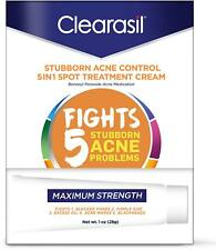 Clearasil Acne Treatment Cream Benzoyl Peroxide 10% 28gm -Expiration 09-2020