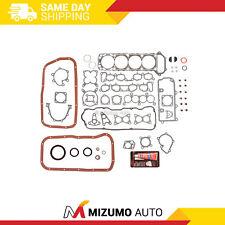 Full Gasket Set Fit 90-92 Nissan Axxess Stanza 2.4 SOHC KA24E