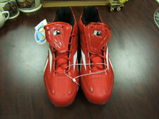 Reebok Cleats Baseball Mens 16 red/white NWT no box