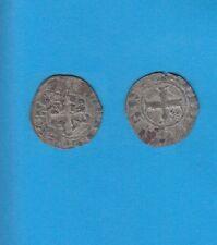PHILIPPE IV Le Bel (1285-1314) Double Tournois billon Lot B PORT GRATUIT FRANCE