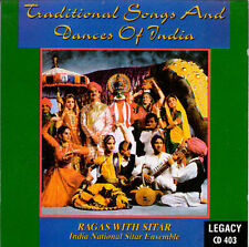 India National Sitar Ensemble : Traditional Songs & Dances Of India: Rag CD