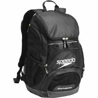 Speedo 35L Teamster Backpack Black / Swim Bag, Swimming Backpack