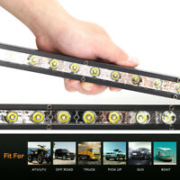 "20""LED Work Light Bar Spot Flood Offroad Roof Lights Driving Lamp Truck Bar Car"
