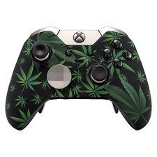 """420 Black"" Xbox One ELITE Rapid Fire Modded Controller 40 Mods for COD Fortnite"