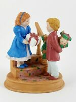 Avon 1984 Figurine Christmas Memories Celebrating the Joy of Giving