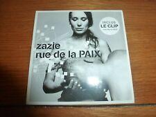 ZAZIE - RUE DE LA PAIX ( CD SINGLE )