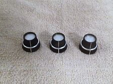TEAC R1000 Tape Deck Input Output Control Knobs Set OEM Very Good Condition