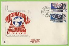 G.B. 1965 I.T.U. set on First Day Cover, Fareham
