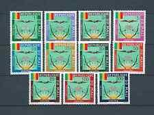 MALI - 1964 YT 12 à 22 SERVICE - TIMBRES NEUFS* légère trace de charnière