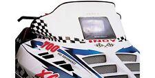 Cobra 10.5 White/Black Windshield Polaris Indy 600 XC 1997