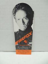 Vintage Firefox Clint Eastwood Bookmark Craig Thomas Novel