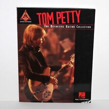 Book Tom Petty The Definitive Guitar Collection 2003 music score