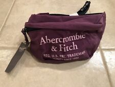 NWT Authentic Abercrombie and Fitch Purple Belt Bag Fanny Pack $28