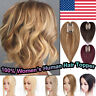 Best Quality Mono Virgin Human Hair Toppers For Women Crown Hairpiece Clip In US