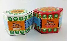 White & Red Tiger Balm Ointment Thai Herbal Massage Headache Pain Muscular