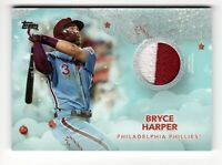 2020 Topps Holiday Bryce Harper Metallic 2 Color Patch Jersey Relic /10 #WHR-BH