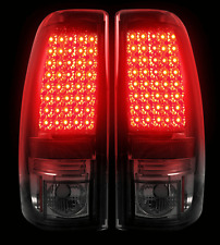Recon 264173BK Smoked Lens LED Tail Lights for 99-07 Chevy/GMC Silverado/Sierra
