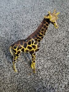 "Large Plastic Giraffe 9-1/2"" Tall Free US Shipping"