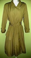 London Fog Towne Collection Trench Coat Women's Size 6P W/Belt Lined/Waterproof