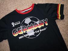 Men's  2014 FIFA World Cup Brazil T- Shirt  Short/Sleeve sz M GERMANY