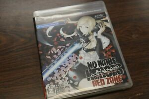 PS3 No More Heroes heroes Red zone edition 301819 Japanese ver from Japan