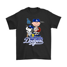 Baseball Los Angeles Dodgers Snoopy T-Shirt MLB Peanut World Series Champions