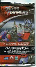 Transformers The Movie Factory Sealed Hobby Packet / Pack