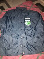VTG ALLSTATE INSURANCE COACH JACKET 1980s Catastrophe Team Men L Big Logo