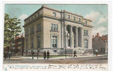 Byers Hall  Yale University New Haven Connecticut 1906 postcard