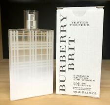 BRIT SUMMER EDITION by Burberry For Women 3.3 Eau De Toilette Spray tester
