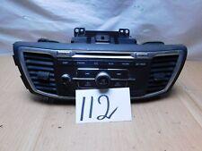 13 14 15 HONDA ACCORD Radio Stereo Single CD AM & FM Used 39100-T2A-A102  (112)