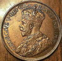 1917 CANADA LARGE CENT PENNY LARGE 1 CENT COIN - Fantastic example!