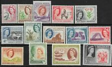 SOUTHERN RHODESIA SG78/91 1953 DEFINITIVE SET MTD MINT