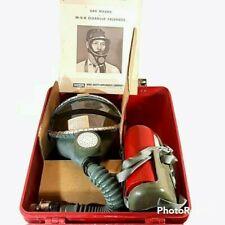 Vtg MSA Mine Safety Appliances Type N Gas Mask Window-Cator SW In Case