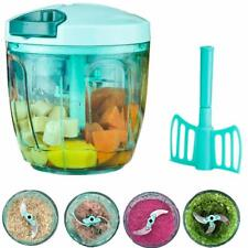 Ourokhome Manual Food Chopper - Food Blender Pull String Vegetable Cutter for On