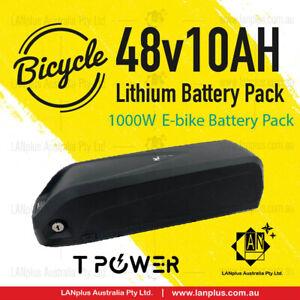 48V 10Ah Tpower Li-ion Lithium Battery Pack W/BMS  Hailong F 1000W Motor E-bike