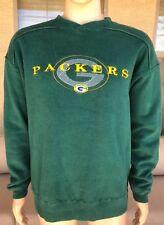 Starter Green Bay Packers Crewneck Sweatshirt Green NFL Size Large
