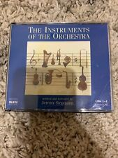 THE INSTRUMENTS OF THE ORCHESTRA [BOX SET] USED - VERY GOOD CDs 1-4 only