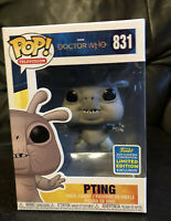 Funko Pop BBC Doctor Who  Pting 831  2019 SDCC Summer Con Exclusive