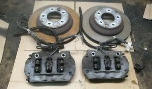 Pour Porsche Cayenne 02-10 Avant L /& R étrier De Frein Joint Kit Réparation Disques 330 mm