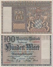 Germany 100 Mark,1.1.1922 Choice Extra Fine Condition Cat#S-923