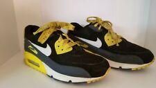 Very Rare Vintage Men's Nike Air Max 90 Retro Size 8.5 Black Yellow Gray Sneaker