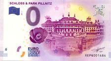 ALLEMAGNE Dresden, Schloss & Park Pillnitz, 2017, Billet 0 € Souvenir