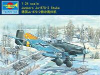 Trumpeter 02425 1/24 Junkers Ju-87g-2 Stuka model kit 2019