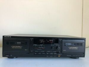 Sony TC-WR535 Dual Cassette Deck Player Tape Recorder HiFi Stereo - NEEDS BELTS