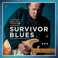 WALTER TROUT SURVIVOR BLUES CD - NEW RELEASE JANUARY 2019